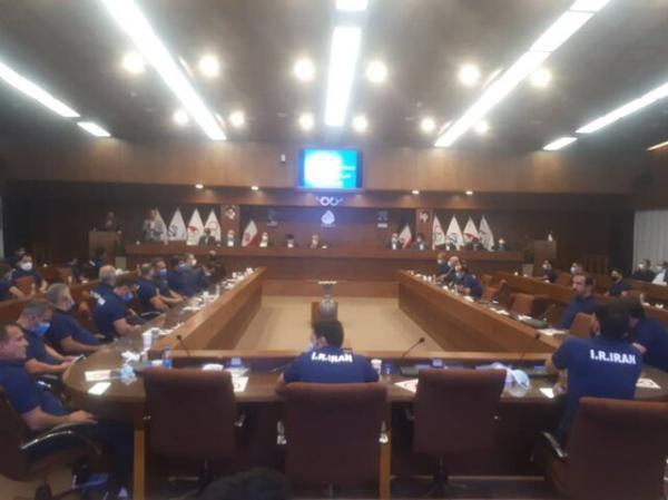تجلیل از پیشکسوتان و کشتی گیران اعزامی به جهانی ترکیه به وسیله کمیته ملی المپیک