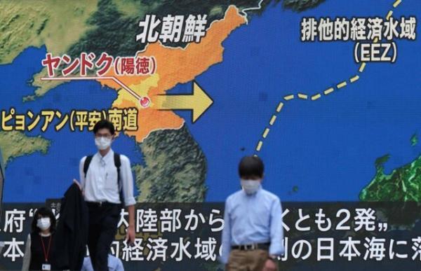 کره شمالی باز هم موشک شلیک کرد، آمریکا: تهدید فوری وجود ندارد